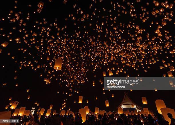 Yi Peng Lantern Festival, Chiang Mai, Thailand