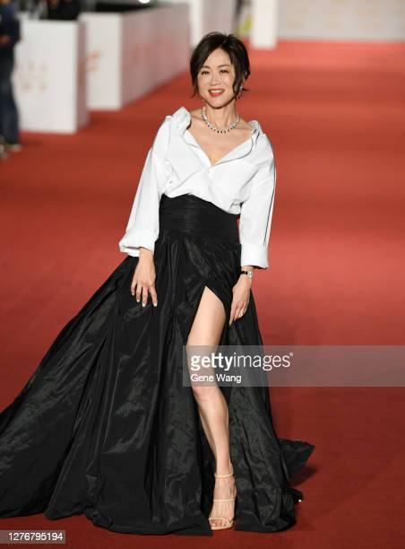 Yi Ping Kao attends the 55th Golden Bell Awards on September 26, 2020 in Taipei, Taiwan.