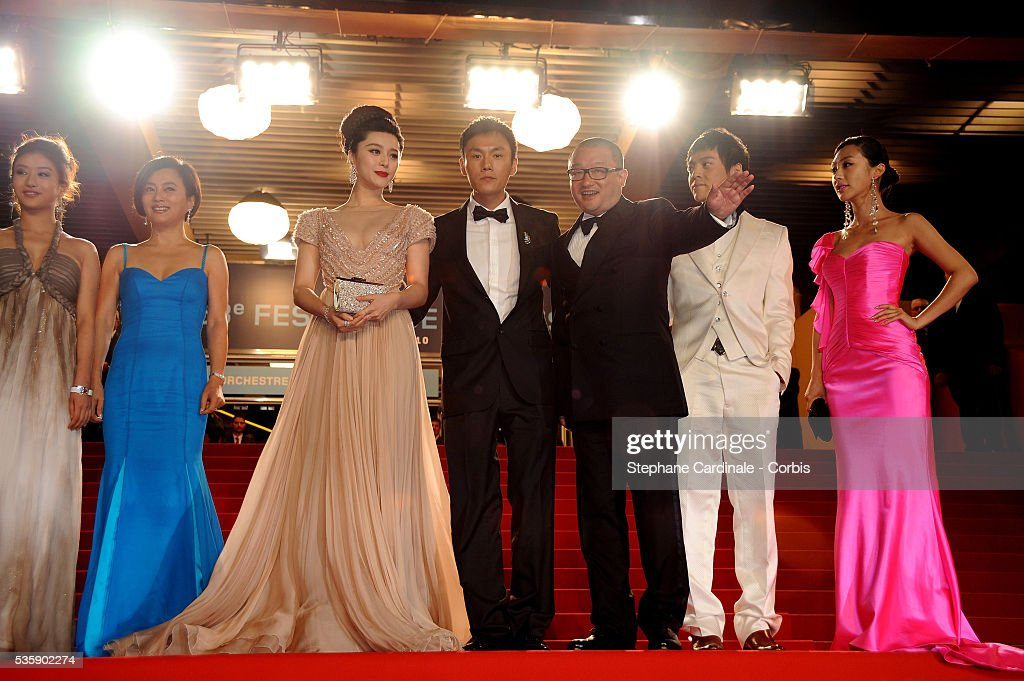 Yi Zi, Li Feier, Hao Qin, Wang Xiaoshuai , Fan BingBing attend the Premiat the premiere of ?Chongqing Blues? during the 63rd Cannes International Film Festival.