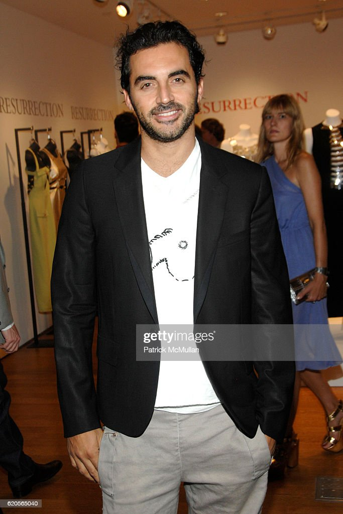 Yigal Azrouel Attends CHRISTIES FASHION ART