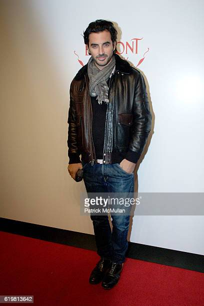 Yigal Azrouel attends The EDMONT SOCIETY AFFAIR at The Friar's Club on October 27 2008 in New York City