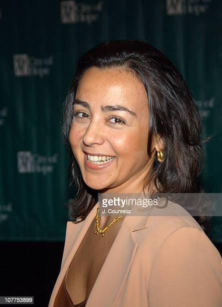 """Yildiz Blackstone, president of Luca Luca during Cindy Crawford Honored as City of Hope's """"Woman of The Year"""" at the 2004 Spirit of Life Luncheon at..."""