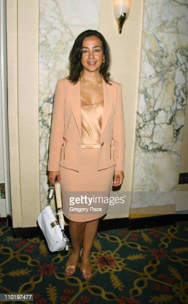 Yildiz Blackstone president of Luca Luca during Cindy Crawford Honored as City of Hope's Woman of The Year at the 2004 Spirit of Life Luncheon at The...