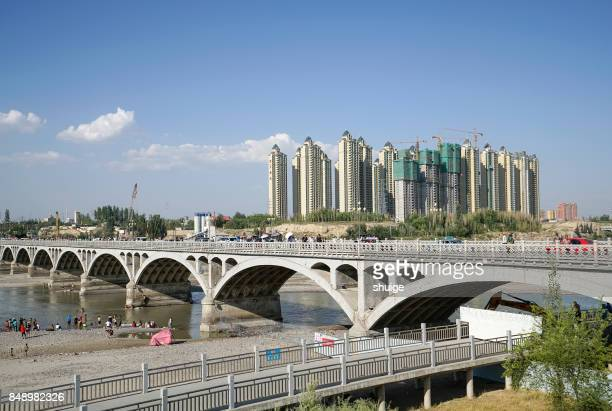 Yili river bridge scenic spot