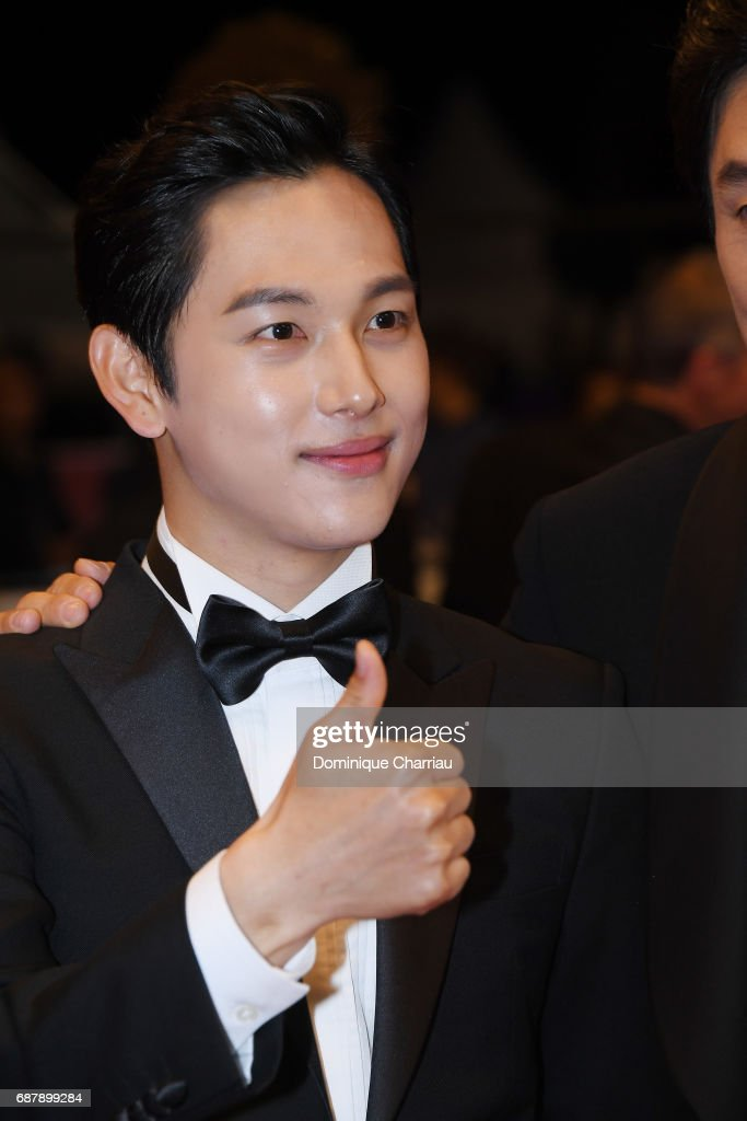 Yim Si-wan attends the The Merciless  screening during