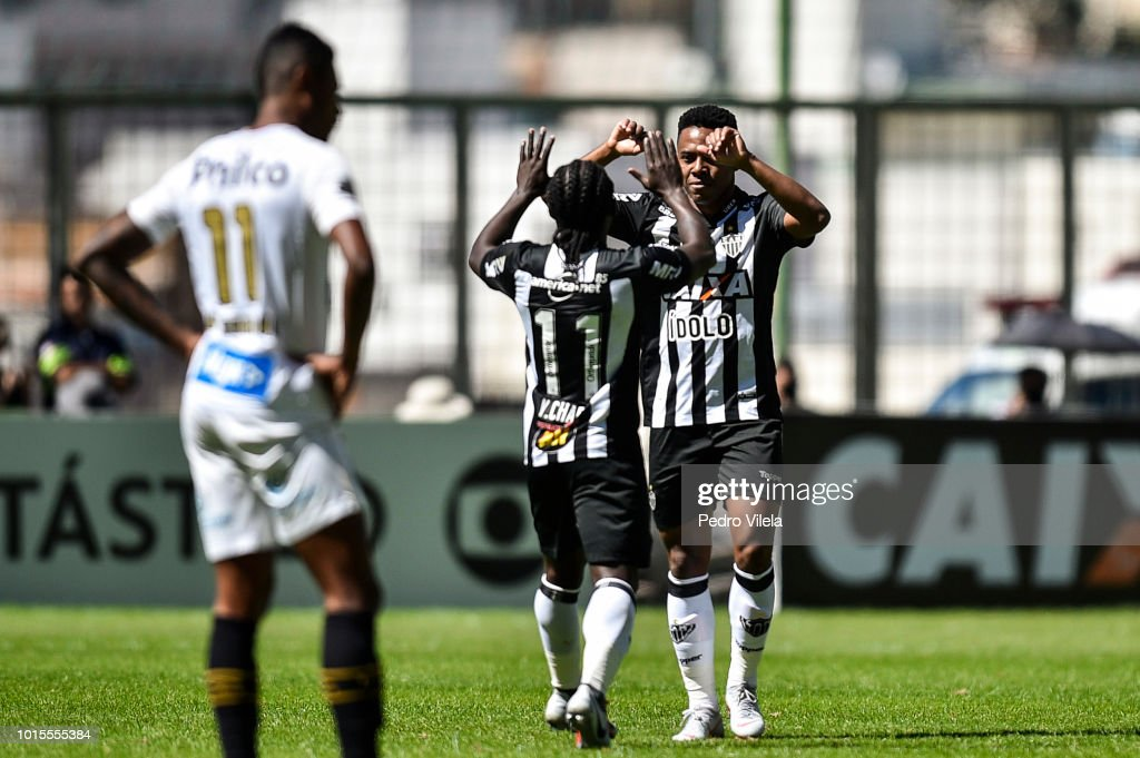 Atletico MG v Santos - Brasileirao Series A 2018