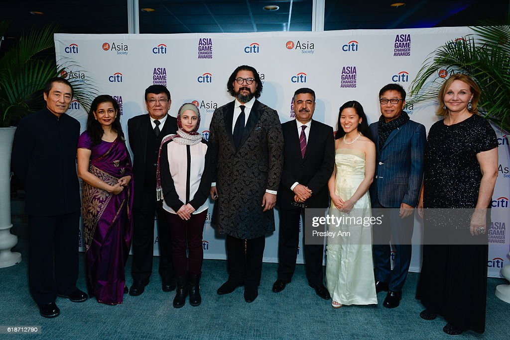 Asia Society Asia Game Changer Awards and Gala Dinner 2016 : News Photo