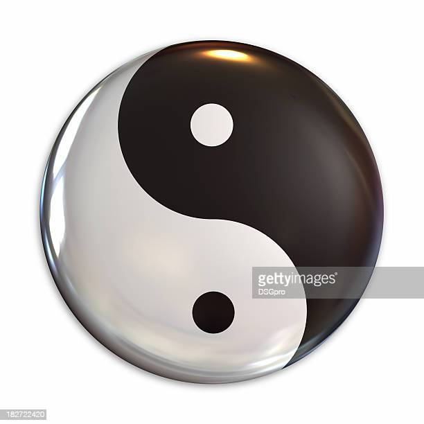 Yin Yang Symbol Stock Photos And Pictures Getty Images