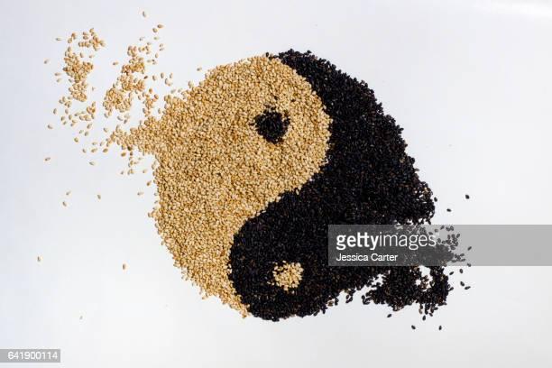 Yin Yang Sesame Seeds