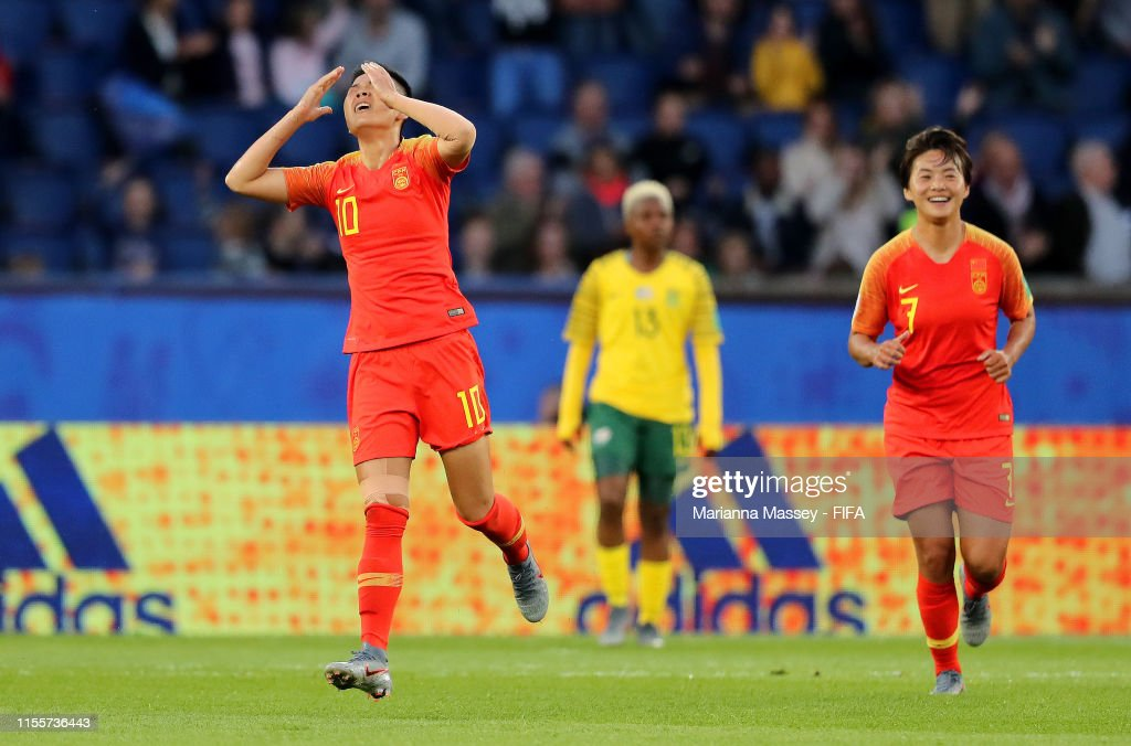 South Africa v China PR: Group B - 2019 FIFA Women's World Cup France : ニュース写真