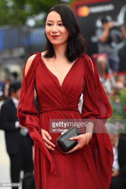 Ying Zei from 'The Taste of Rice Flower' movie arrives at the Award Ceremony of the 74th Venice Film Festival at Sala Grande on September 9 2017 in...