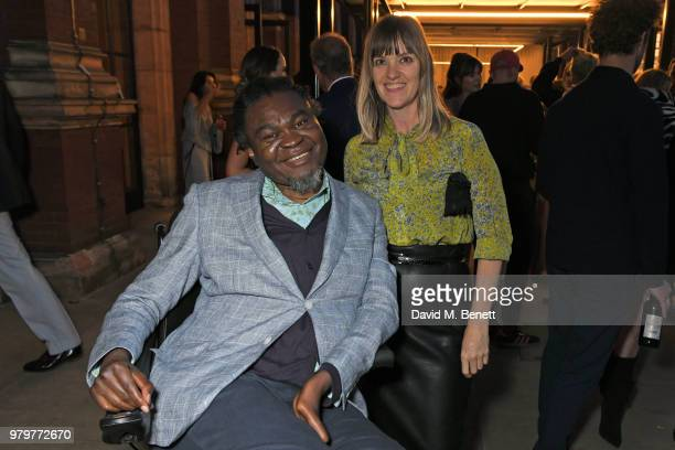 Yinka Shonibare attends the Summer Party at the VA in partnership with Harrods at the Victoria and Albert Museum on June 20 2018 in London England