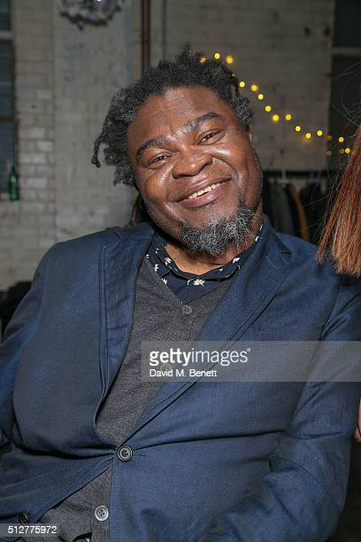 Yinka Shonibare MBEDeborah Rigby attends the Medecins Sans Frontieres art and music fundraising event on February 27 2016 in London England