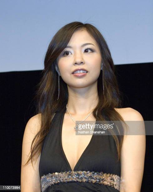 Yinling of Joytoy during The 14th Tokyo International Lesbian Gay Film Festival Closing Ceremony at Spiral Hall in Tokyo Japan