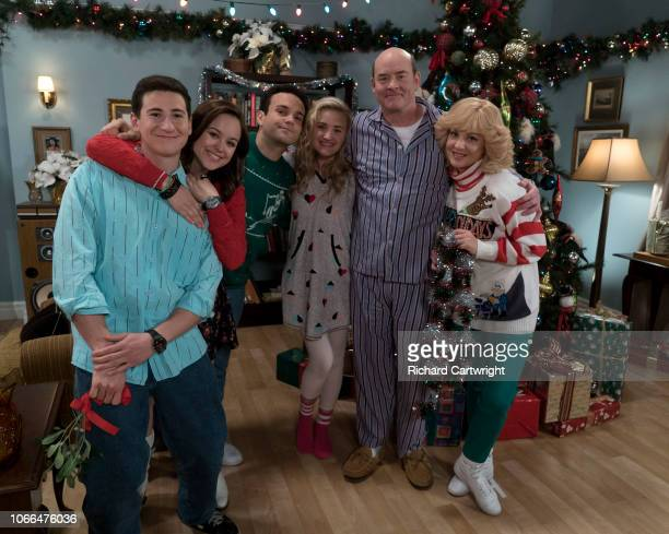 THE GOLDBERGS Yippee Ki Yay Melon Farmer Much to Beverly's chagrin Barry is thrilled that he gets to celebrate Christmas now that he is engaged to...