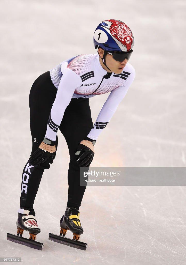 Short Track Speed Skating - Winter Olympics Day 4
