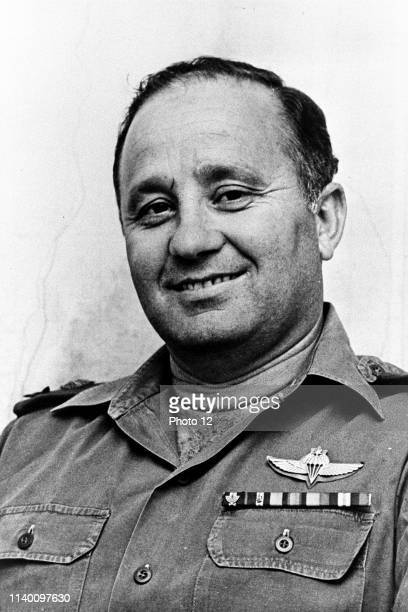 Yitzhak Hofi General, member of the Palmach, the head of the Israeli Northern Command and the director of Mossad.