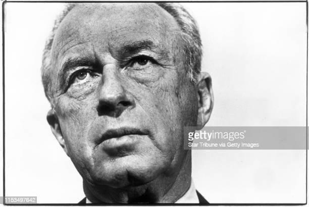 Yitzhak Rabin, then Israeli ambassador to the United States was in Minneapolis to meet with local Jewish leaders and to promote his memoirs.