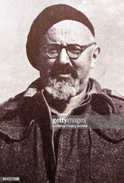 Yitzhak Sadeh commander of the Palmas one of the founders of the Israel Defense Forces at the time of the establishment of the State of Israel