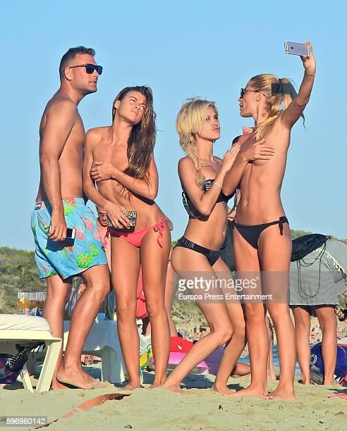 Ylenia Padilla is seen on August 2 2016 in Ibiza Spain