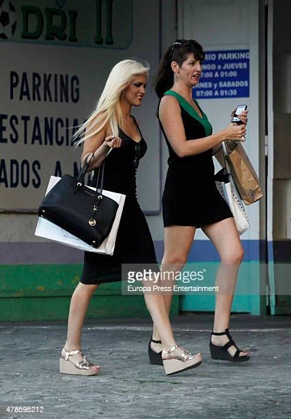 Ylenia Padilla is seen on June 25 2015 in Madrid Spain