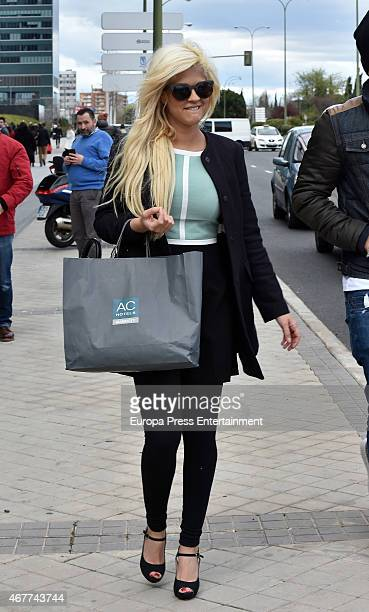 Ylenia Padilla is seen on March 26 2015 in Madrid Spain
