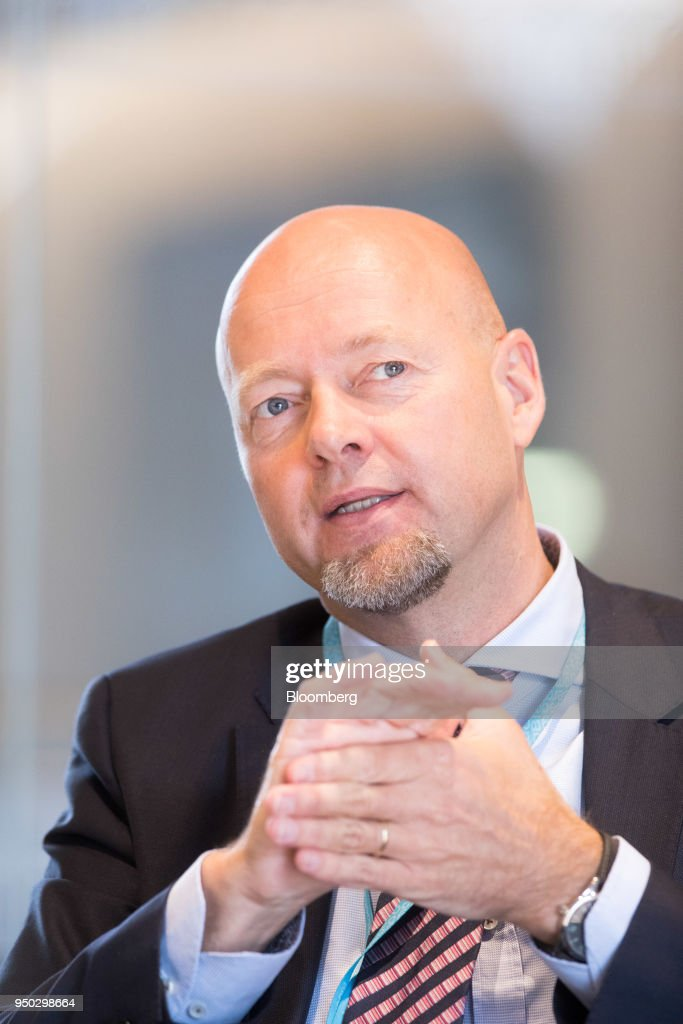 Norges Bank Investment Management Chief Executive Officer Yngve Slyngstad Portraits