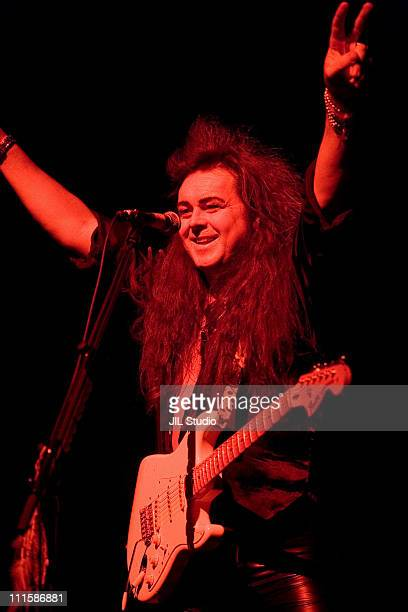 Yngwie Malmsteen during Yngwie Malmsteen in Concert at the Tokyo Kosei Nenkin Kaikan Hall - December 14, 2005 at Tokyo Kosei Nenkin Kaikan Hall in...