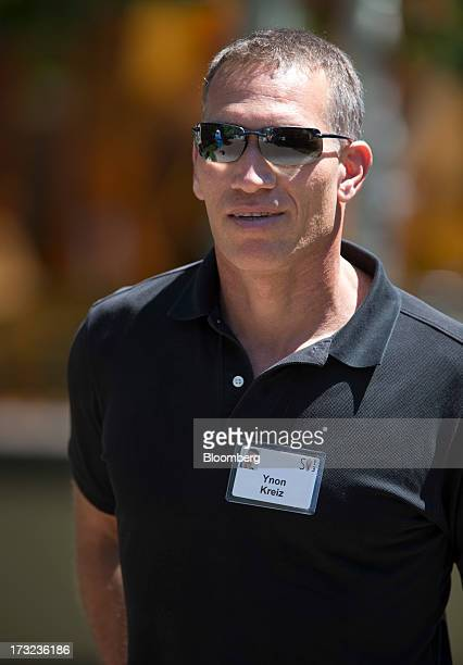 Ynon Kreiz executive chairman of Maker Studios walks the grounds at the Allen Co Media and Technology Conference in Sun Valley Idaho US on Wednesday...