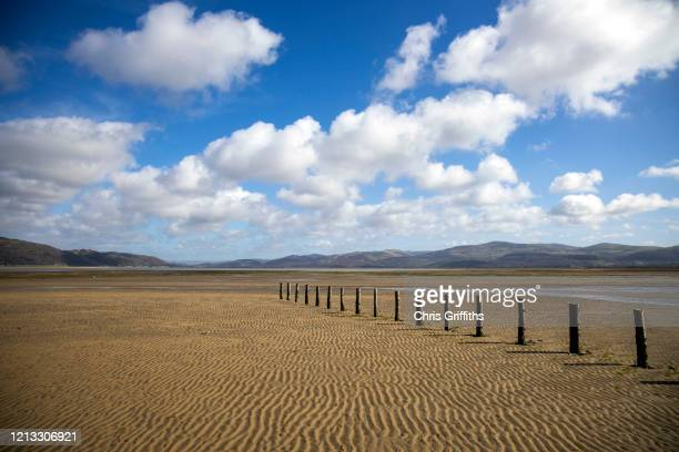 ynyslas dyfi national nature reserve, wales, united kingdom - seascape stock pictures, royalty-free photos & images