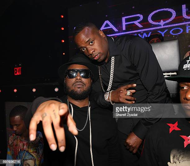 Yo Gotti and Kent Jones attend Epic Summer Hosted By DJ Khaled at Marquee on August 28, 2016 in New York City.