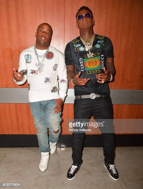 Yo Gotti and Money Bag Yo attend Night two of the BET Experience Concert Series at LA Live on June 23, 2017 in Los Angeles, California.