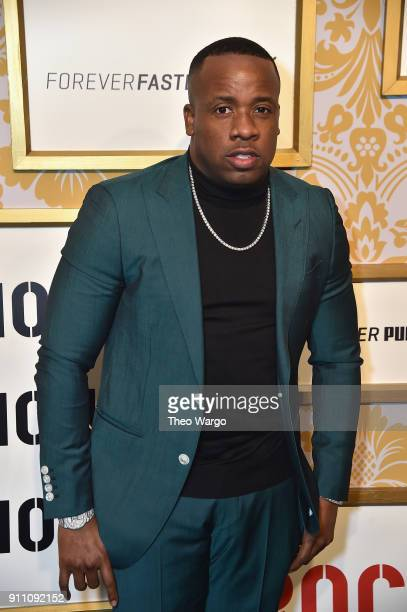 Yo Gotti attends Roc Nation THE BRUNCH at One World Observatory on January 27 2018 in New York City