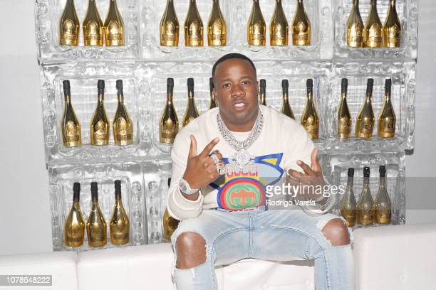"""Yo Gotti poses at Yo Gotti and PUMA's Exclusive Preview Party at Art Basel for Gotti's Upcoming Album."""" on December 06, 2018 in Miami, Florida."""