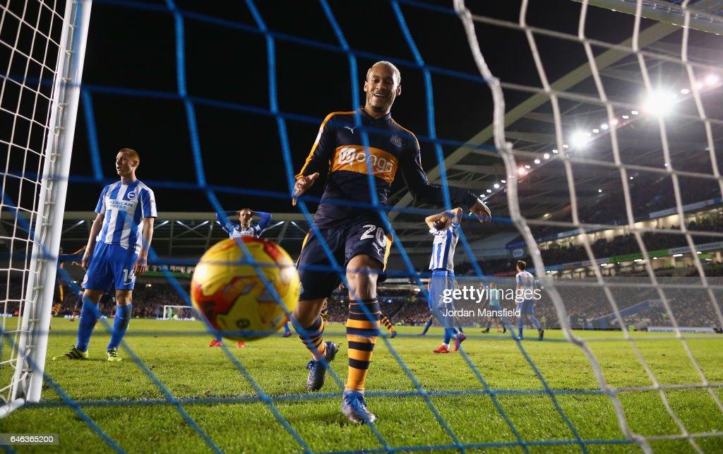 Brighton & Hove Albion v Newcastle United - Sky Bet Championship