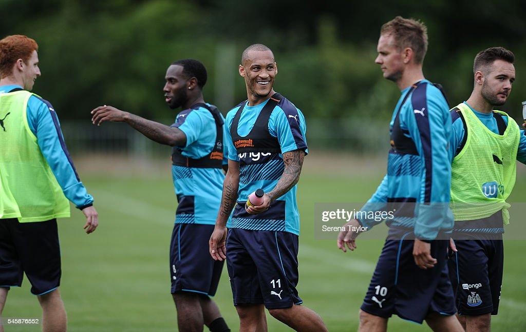 Newcastle United Pre-Season Training Camp