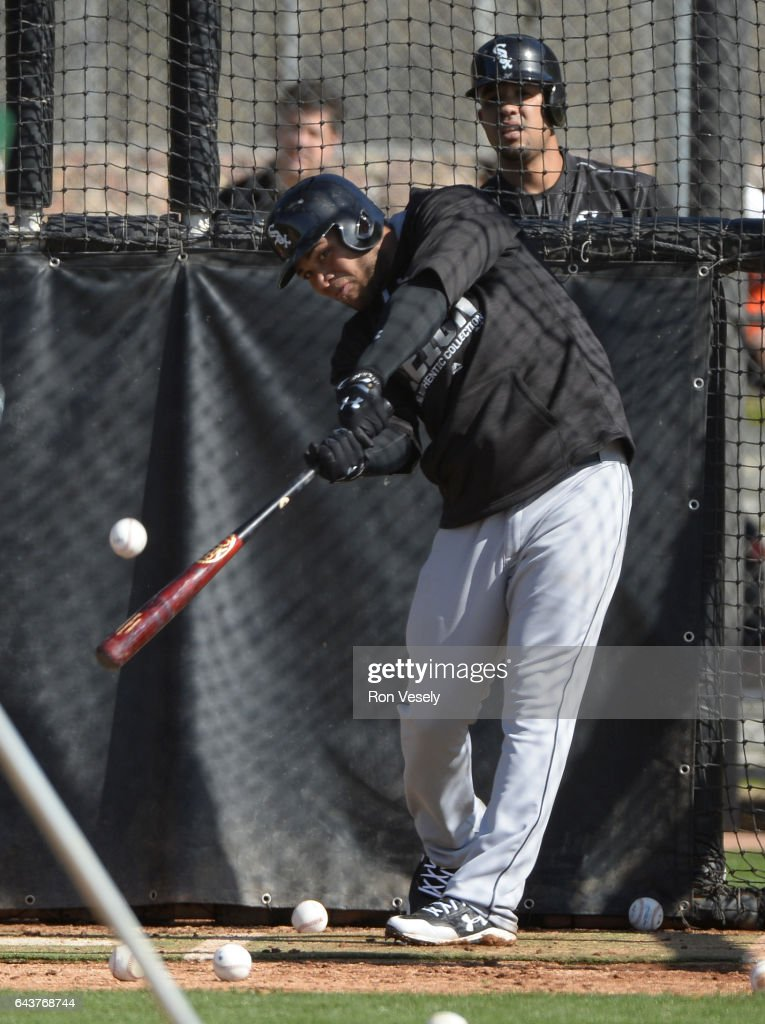 Chicago White Sox Workout : News Photo