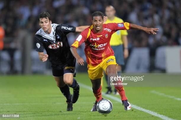 Yoann GOURCUFF / Issam JEMAA Bordeaux / Lens Ligue1 1ere journee Stade Chaban Delmas Photo Dave Winter / Icon Sport