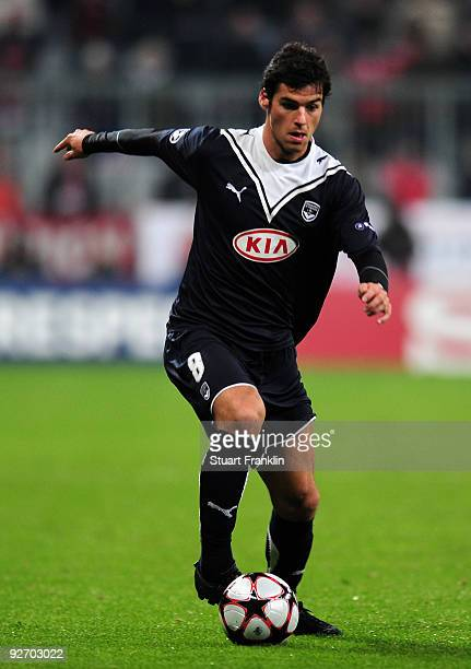 Yoann Gourcuff of Bordeaux during the UEFA Champions League Group A match between FC Bayern Muenchen and Bordeaux at Allianz Arena on November 3 2009...