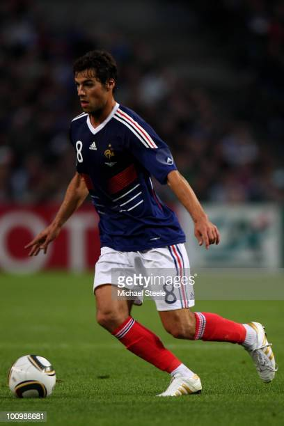 Yoann Gourcuff of France during the France v Costa Rica International Friendly match at Stade Felix Bollaert on May 26 2010 in Lens France