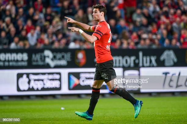 Yoann Gourcuff of Rennes during the Ligue 1 match between Stade Rennes and Montpellier Herault SC at Roazhon Park on May 19 2018 in Rennes