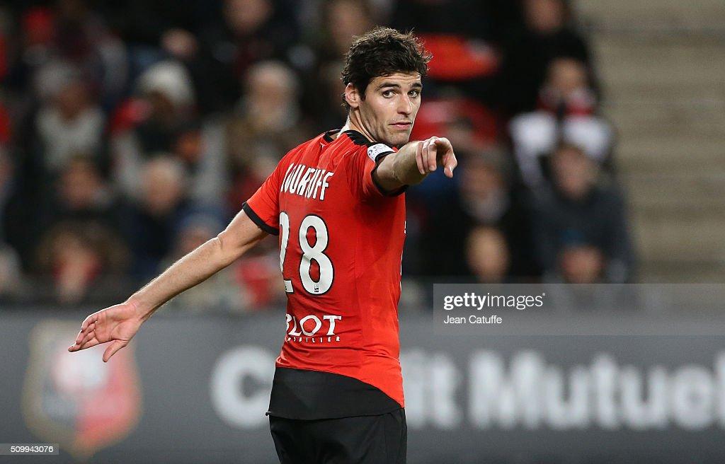 Stade Rennais FC v Angers SCO - Ligue 1 : Nieuwsfoto's
