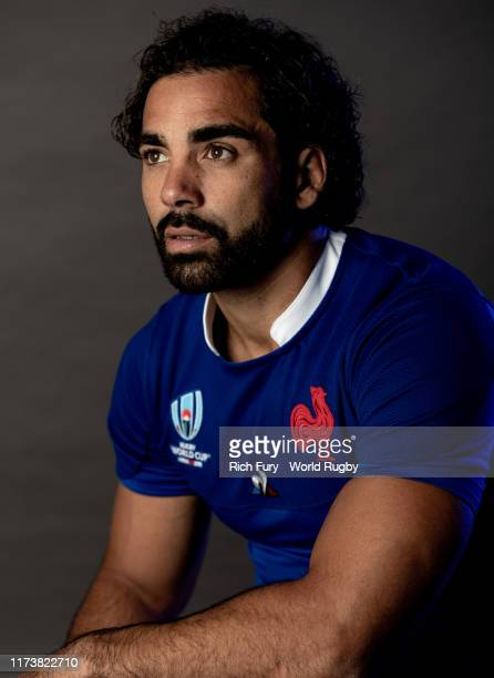 Yoann Huget of France poses for a portrait during the France Rugby World Cup 2019 squad photo call on September 10 2019 in Fujiyoshida Yamanashi Japan