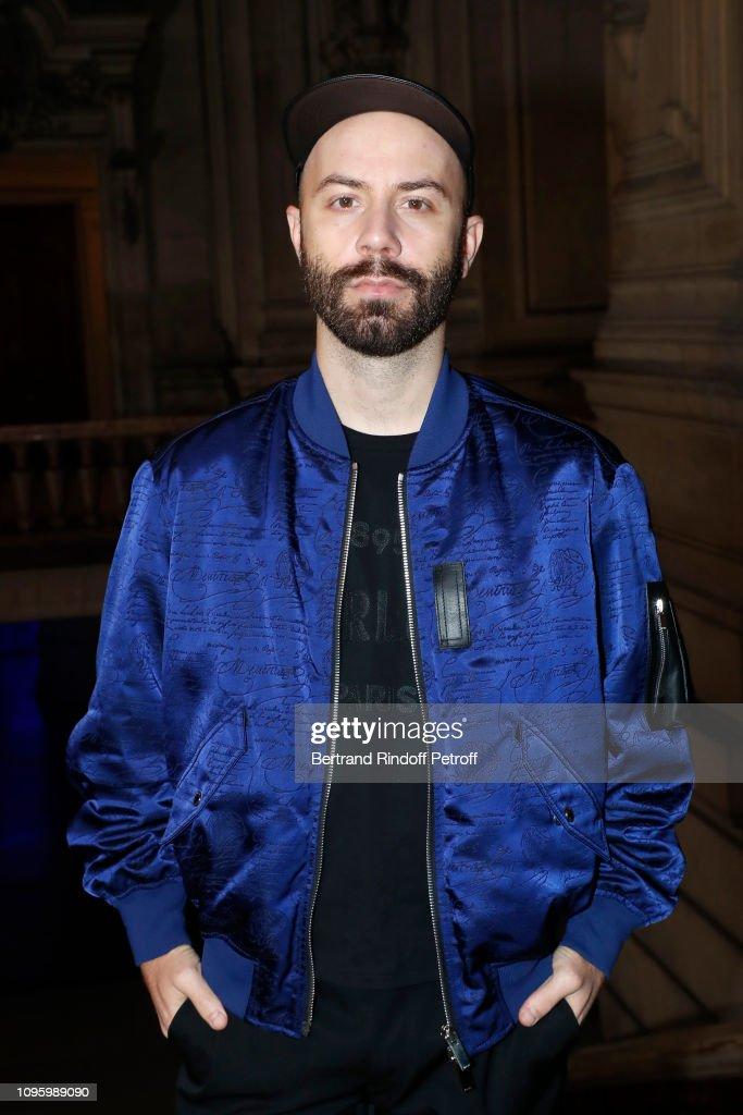 Berluti : Front Row - Paris Fashion Week - Menswear F/W 2019-2020 : Foto di attualità