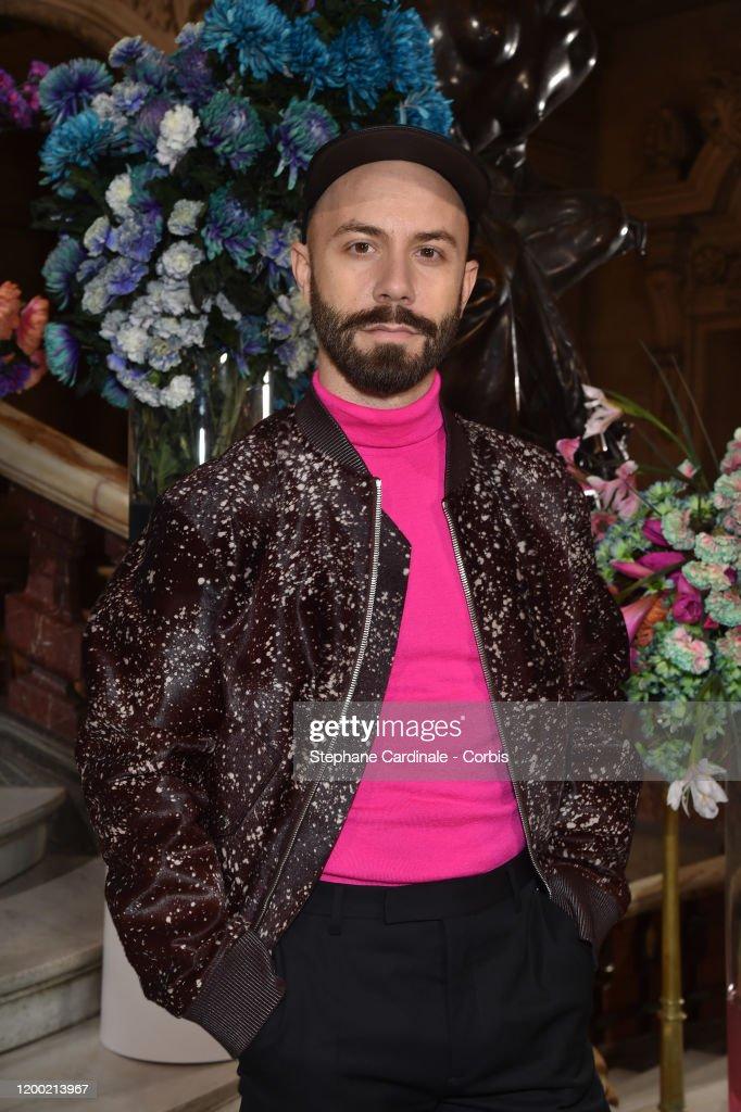 Berluti : Front Row - Paris Fashion Week - Menswear F/W 2020-2021 : Foto di attualità