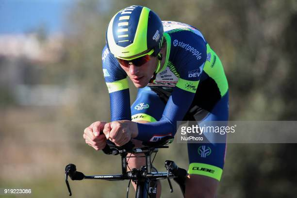 Yoann Offredo of Wanty Groupe Gobert during the 3rd stage of the cycling Tour of Algarve between Lagoa and Lagoa on February 16 2018