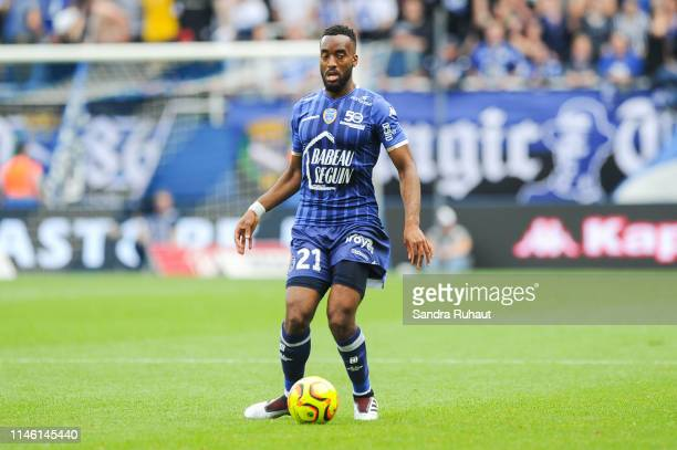 Yoann Salmier of Troyes during the Ligue 2 match between Troyes and Lens on May 24 2019 in Troyes France