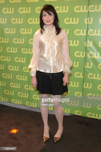 Yoanna House during The CW Upfront Red Carpet at Madison Square Garden in New York New York United States