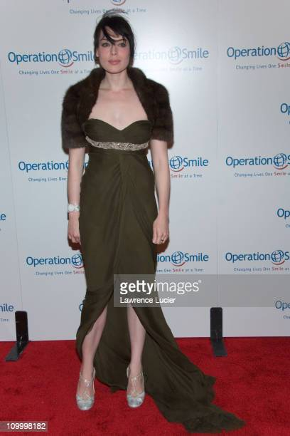 Yoanna House during The Smile Collection - Operation Smile's Annual Charity Dinner and Live Auction at Skylight Studios in New York, NY, United...
