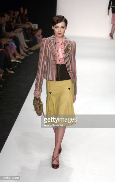 Yoanna House of 'America's Next Top Model' wearing Petro Zillia 2004